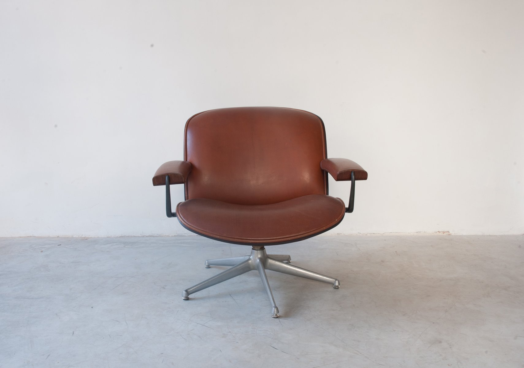 Sessel aus Palisander von Ico Parisi für MIM, 1962