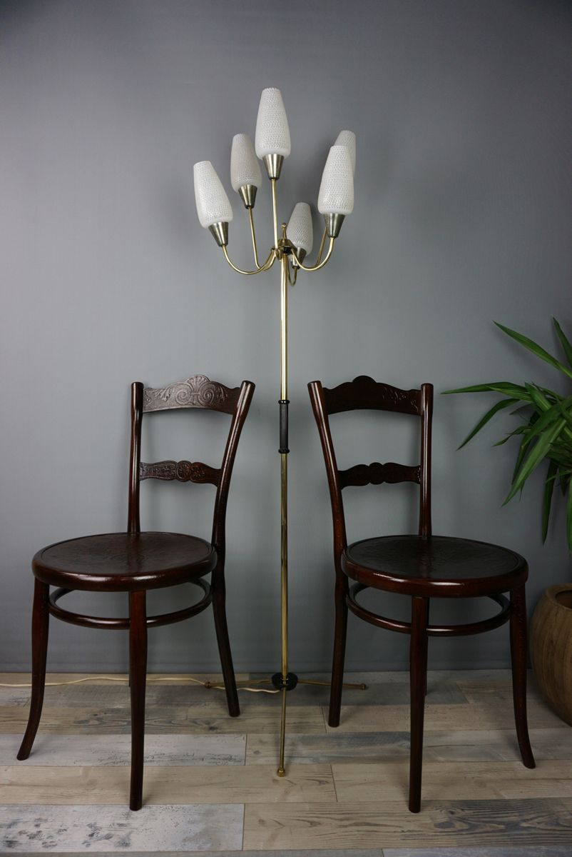 Antique N ° 100 Chairs By Michael Thonet, Set Of 2