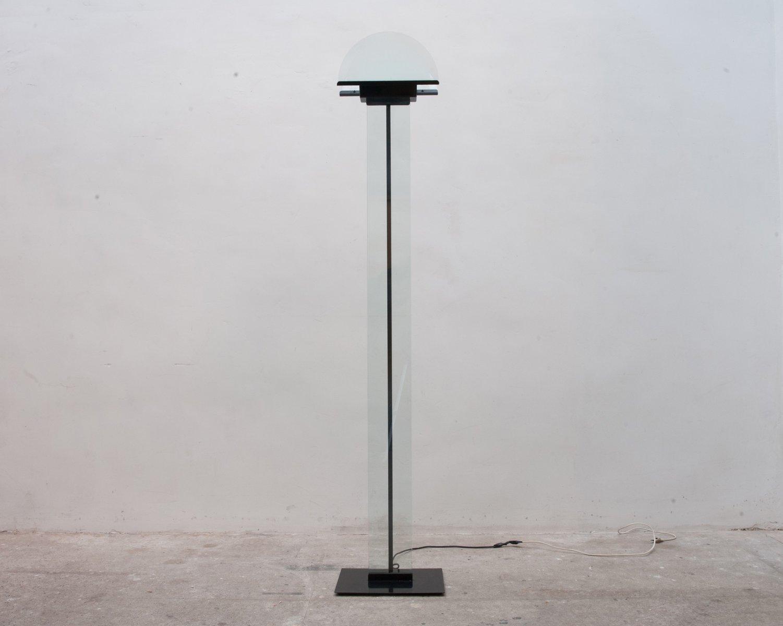 Italienische Deckenfluter-Stehlampe von Lamperti, 1980er