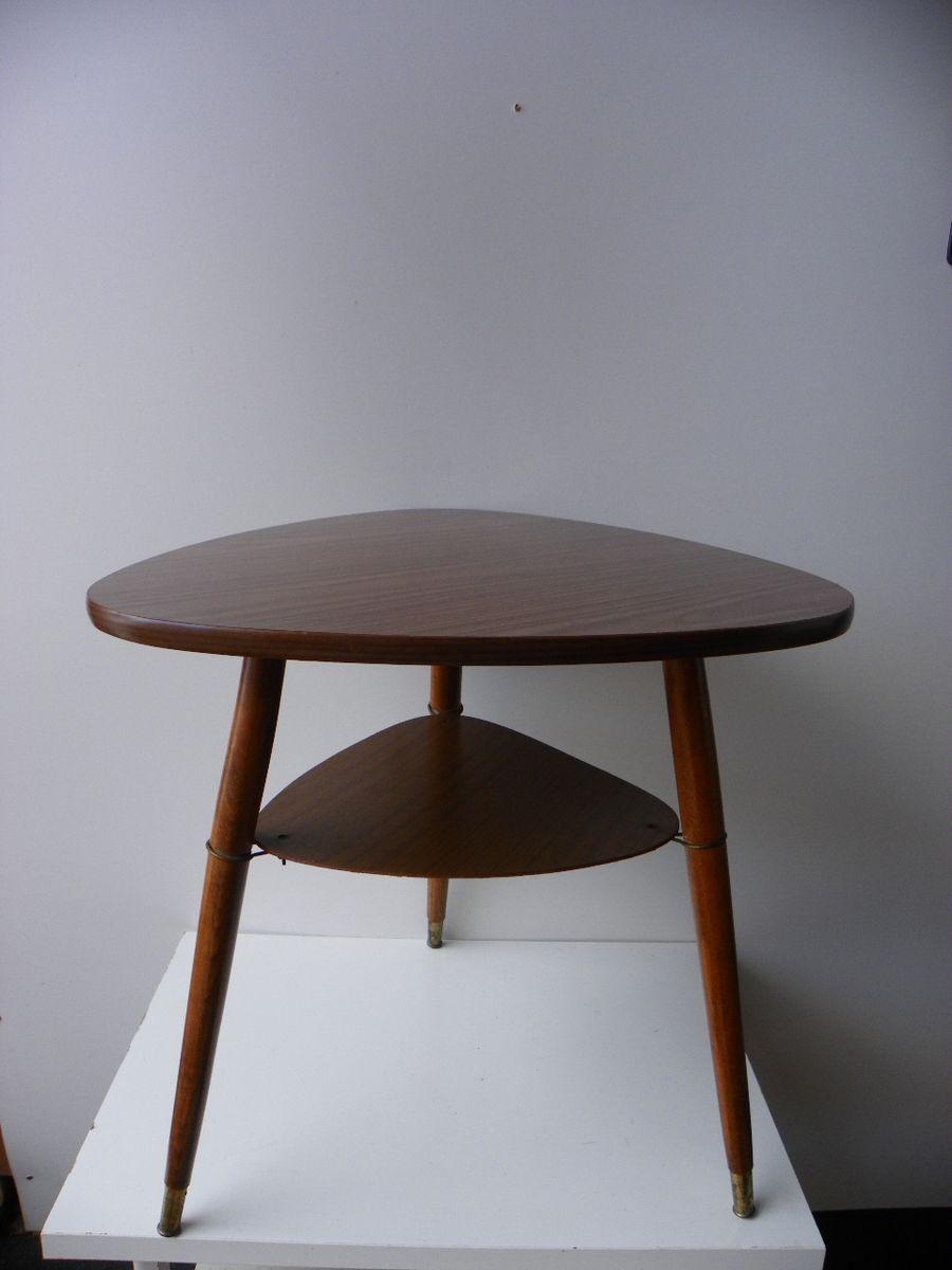 Dreibein Couchtisch, 1950er