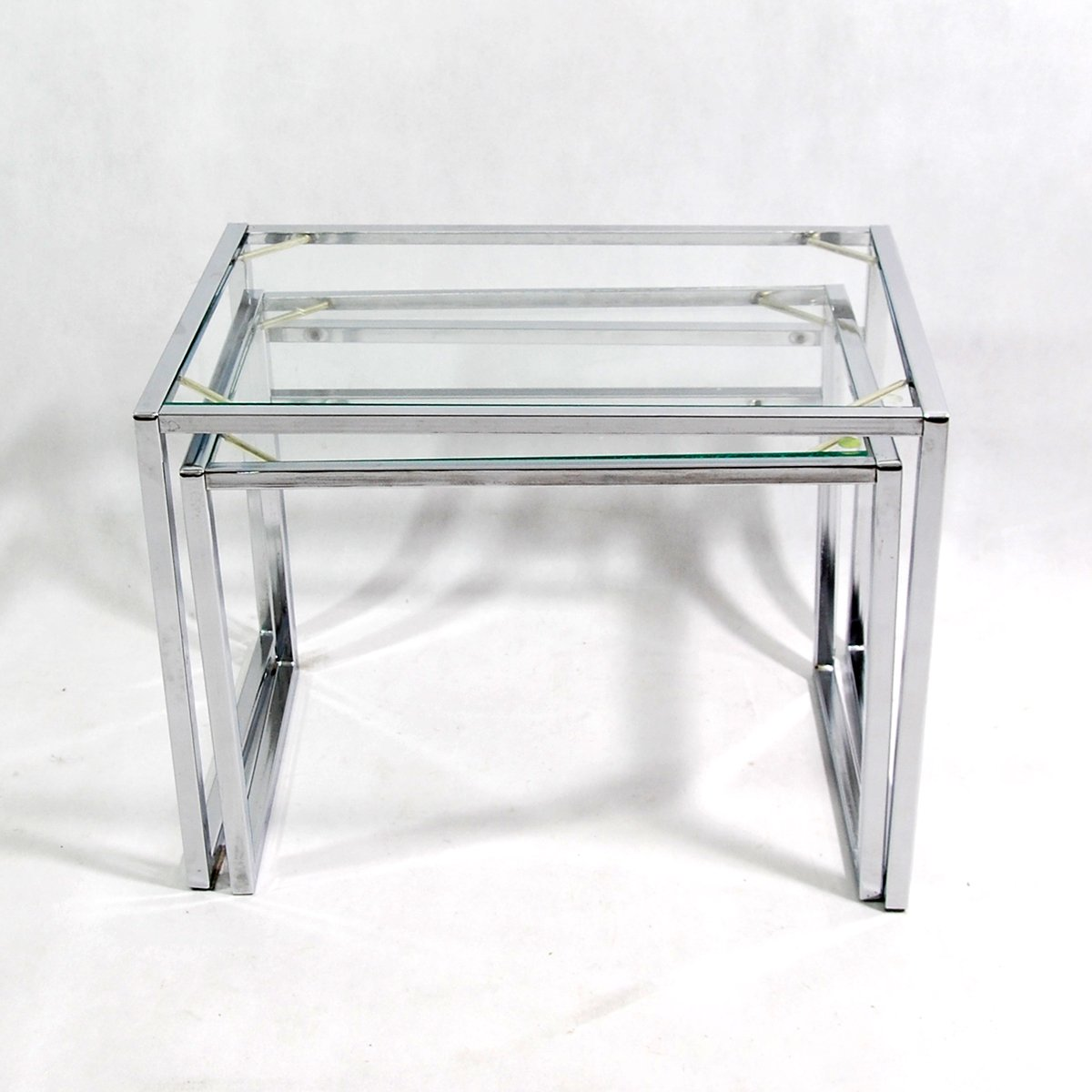 Modernist nesting tables from ikea 1960s for sale at pamono modernist nesting tables from ikea 1960s watchthetrailerfo