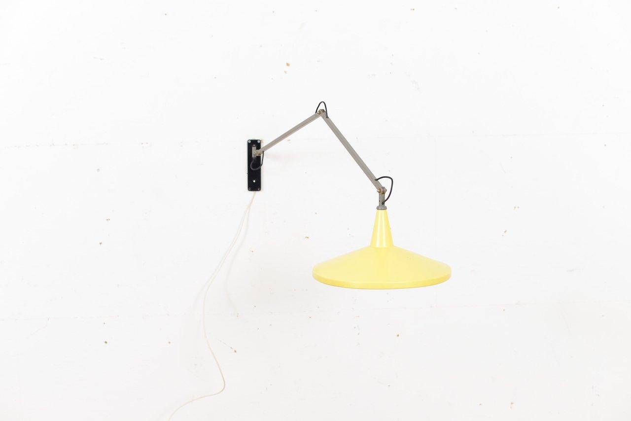 Panama Wandlampe von Wim Rietveld für Gispen, 1955