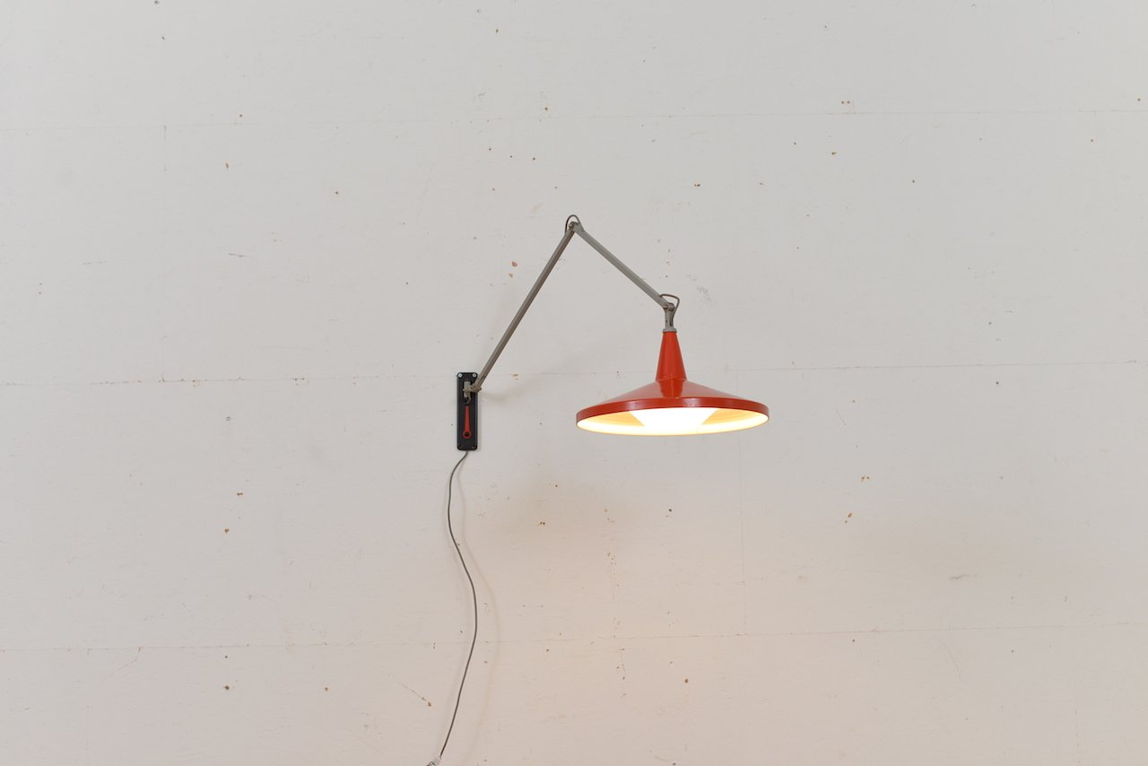 Faretti con braccio flessibile b w applique led lampada led