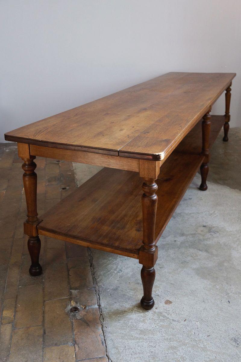 table de travail antique france en vente sur pamono. Black Bedroom Furniture Sets. Home Design Ideas