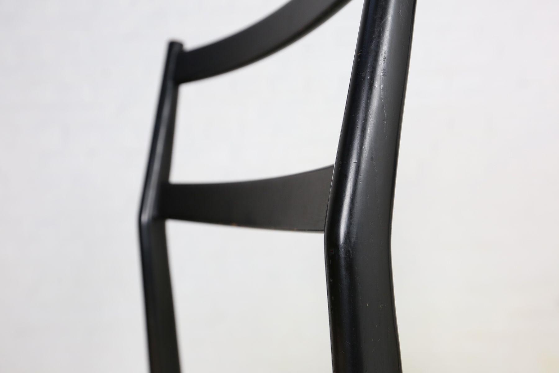 Italienische Esszimmerstühle Von Gio Ponti Für Cassina 1960er 6er