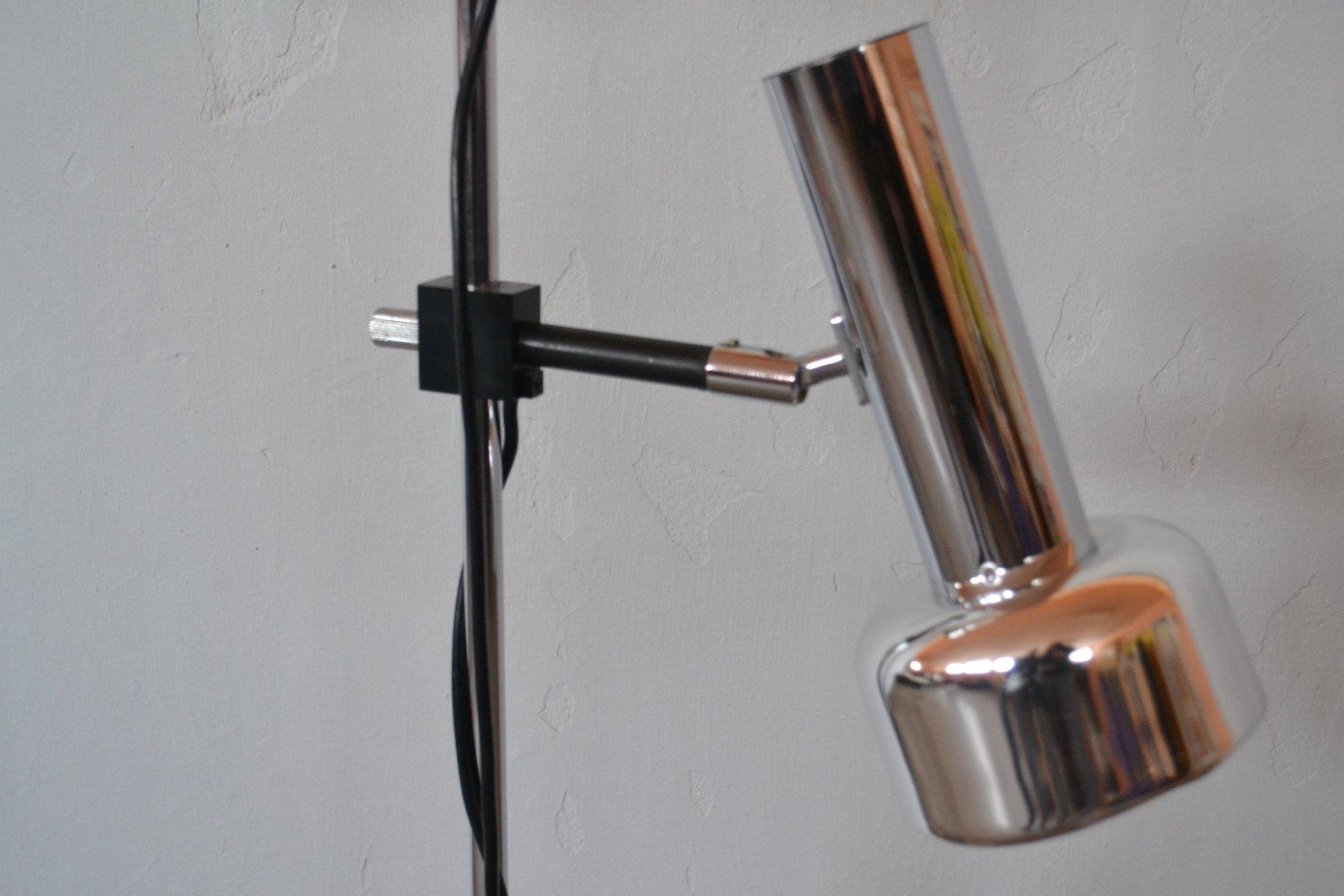 Lampe Mit Zwei Schirmen Von Koch & Lowy, 1970er Bei Pamono