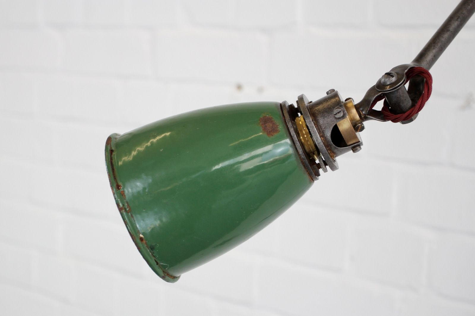 Industrielle Schreibtischlampe Für Dugdills, 1930er