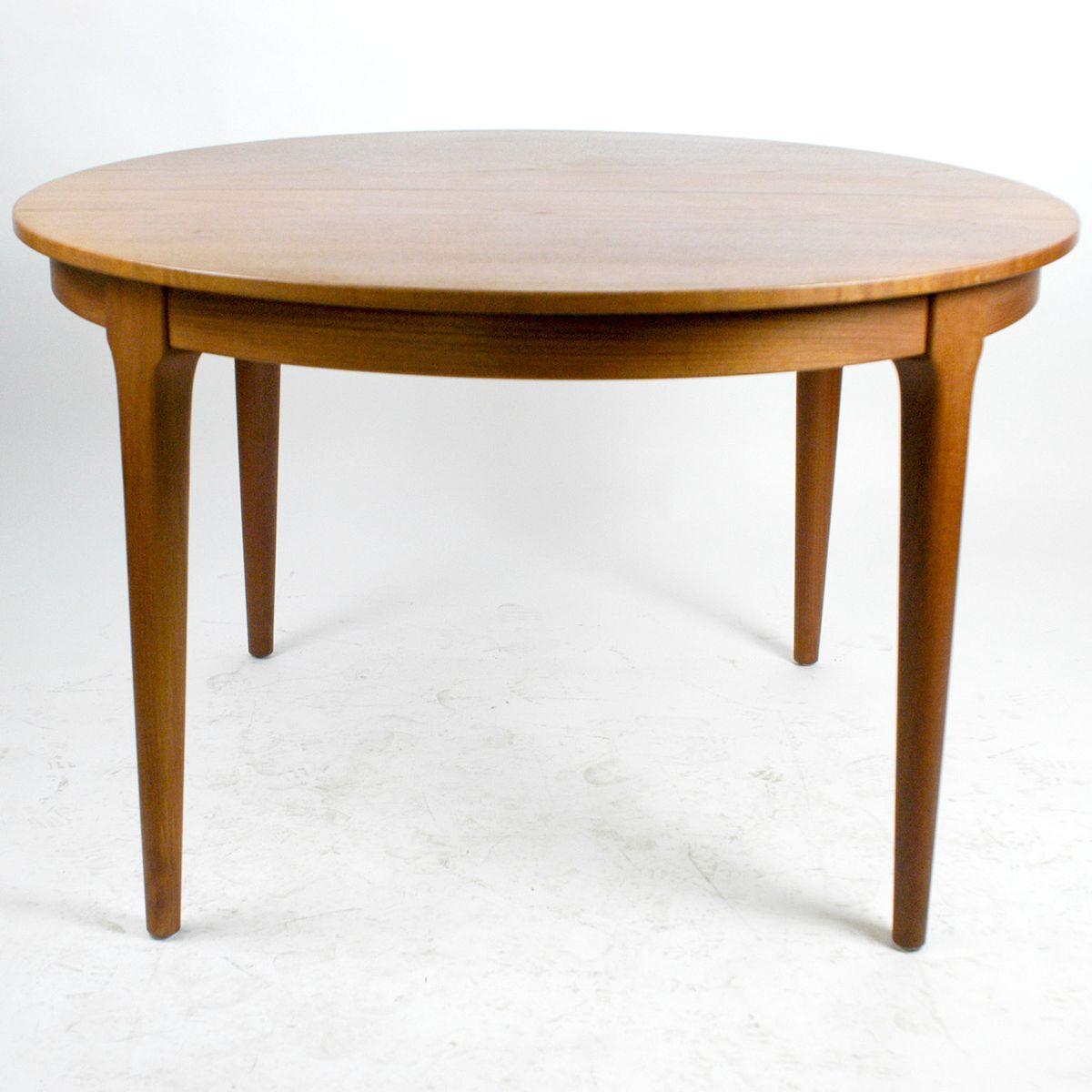 Table de Salle à Manger Extensible Circulaire par Frem Røjle ...