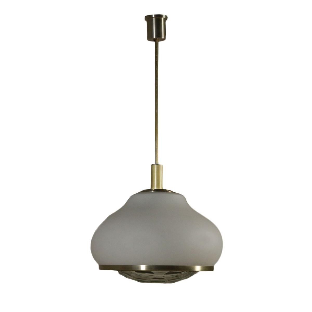 Italienische Deckenlampe von Pia Guidetti Crippa für Lumi, 1960er