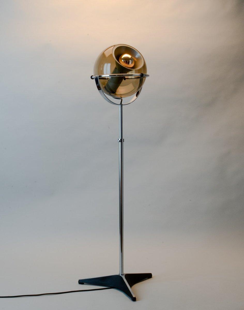 Mid-Century Globe Stehlampe von Frank Ligtelijn für Raak, 1960er