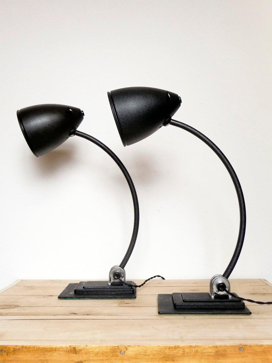 Vintage Lampe von Zeiss Ikon