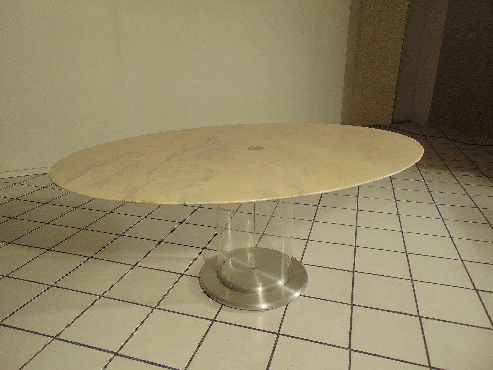 Ellisse Tisch von Claudio Salocchi für Sormani, 1972