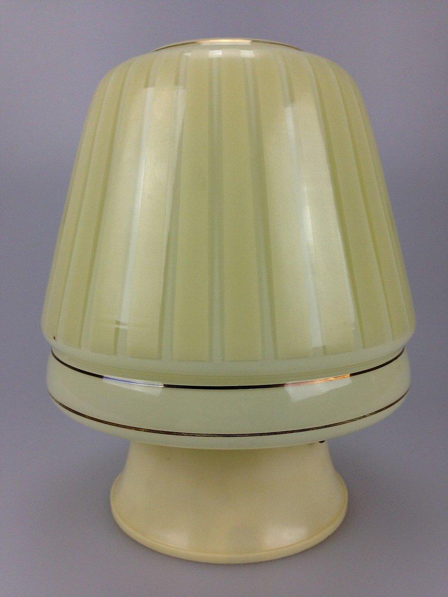 Deutsche Glas & Plastik Deckenlampe von Erco, 1960er