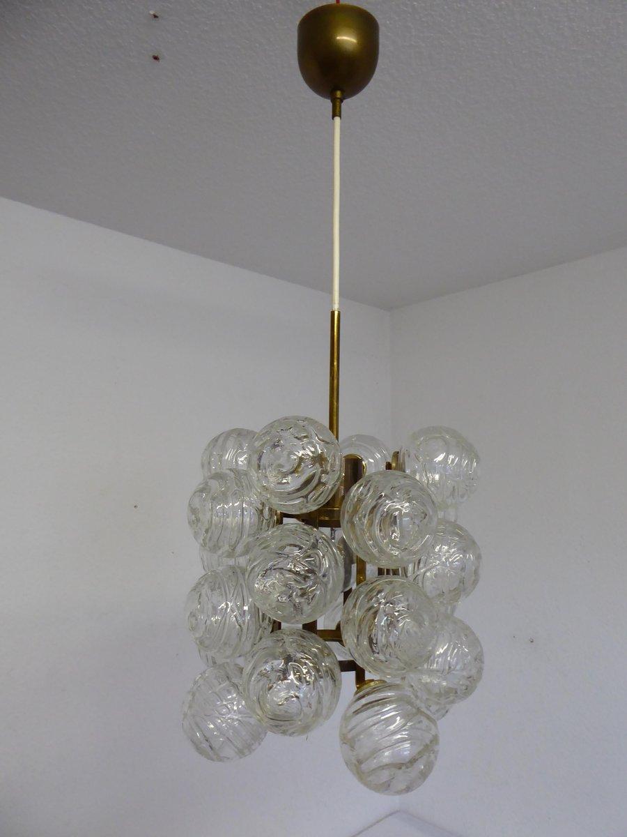 Mid-Century Atomic Deckenlampe von Doria, 1970er