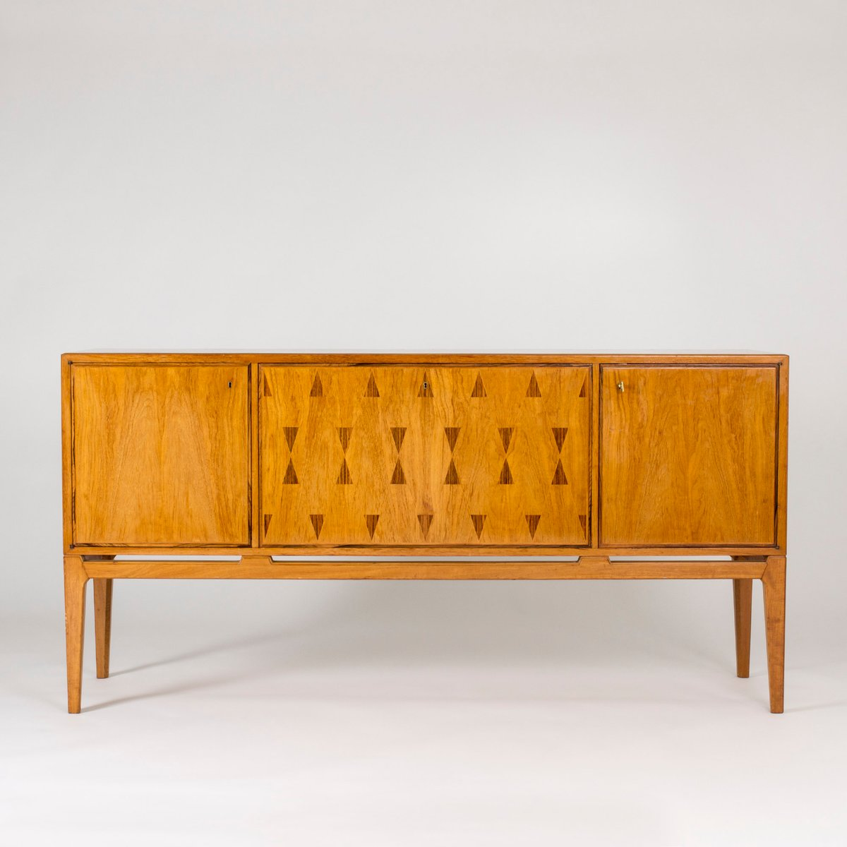 Schwedisches Mahagoni Sideboard, 1950er