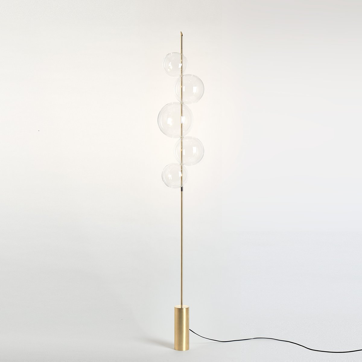 Grandine brushed brass floor lamp with 5 lights silviomondinostudio grandine brushed brass floor lamp with 5 lights silviomondinostudio aloadofball Choice Image
