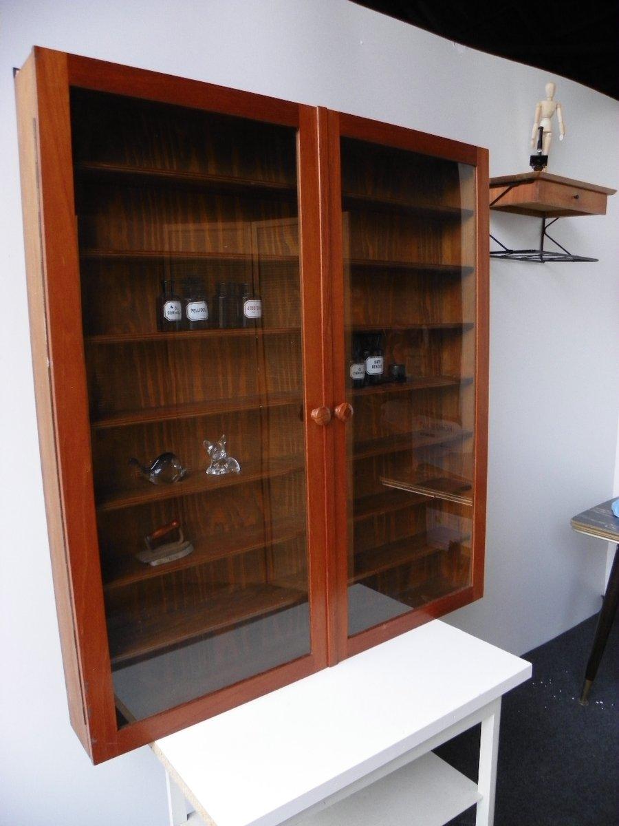 meuble vintage en bois 1960s en vente sur pamono. Black Bedroom Furniture Sets. Home Design Ideas