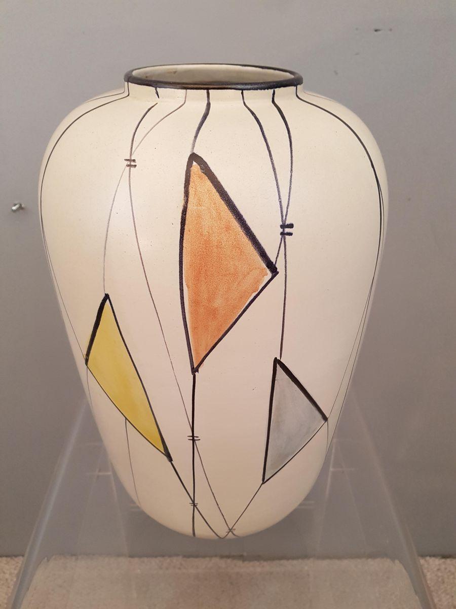 gro e keramik vase 1960er bei pamono kaufen. Black Bedroom Furniture Sets. Home Design Ideas