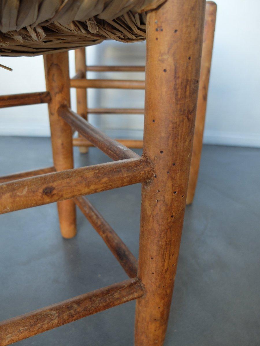 sgabello nr 17 vintage di charlotte perriand per l 39 equipement de la maison in vendita su pamono. Black Bedroom Furniture Sets. Home Design Ideas