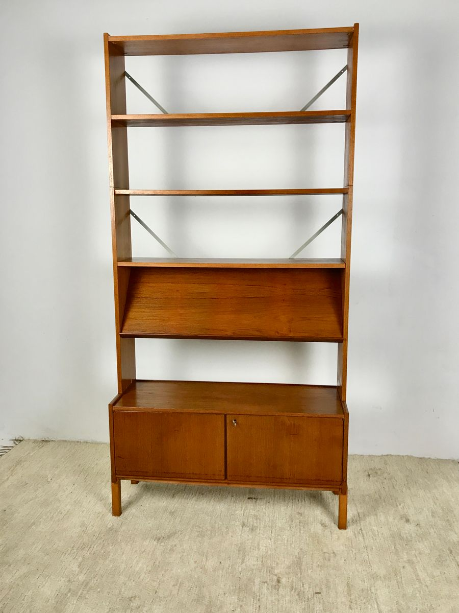 Vintage Danish Teak Bookshelves 1970s
