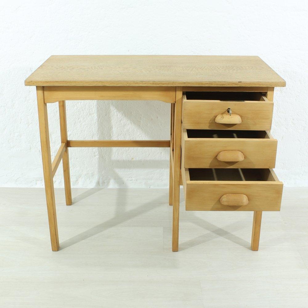 kleiner vintage schreibtisch 1940er bei pamono kaufen. Black Bedroom Furniture Sets. Home Design Ideas