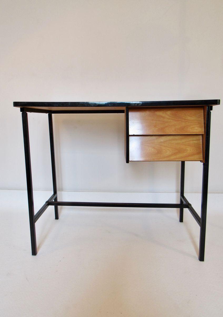 mid century schreibtisch aus formica bei pamono kaufen. Black Bedroom Furniture Sets. Home Design Ideas