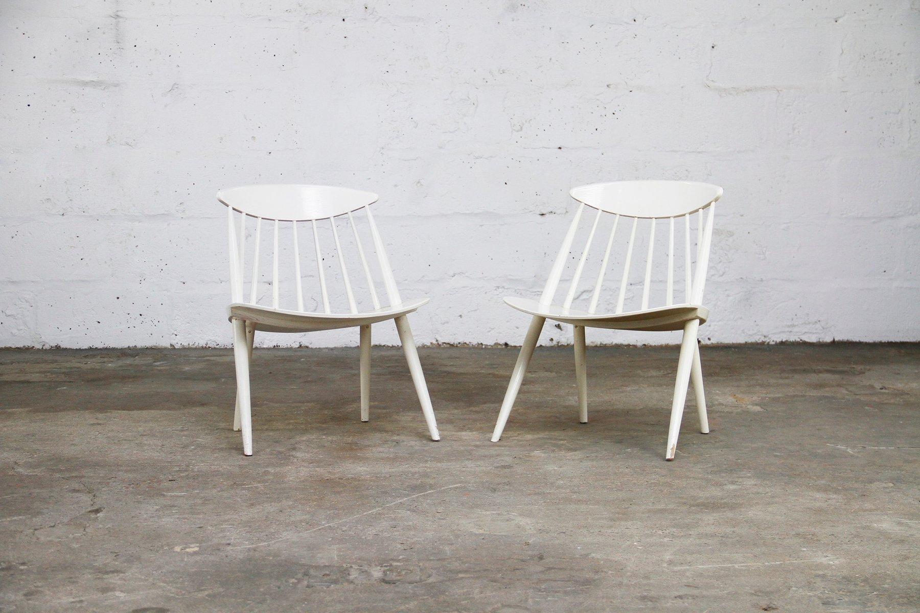 vintage st hle von gillis lundgren f r ikea 2er set bei. Black Bedroom Furniture Sets. Home Design Ideas