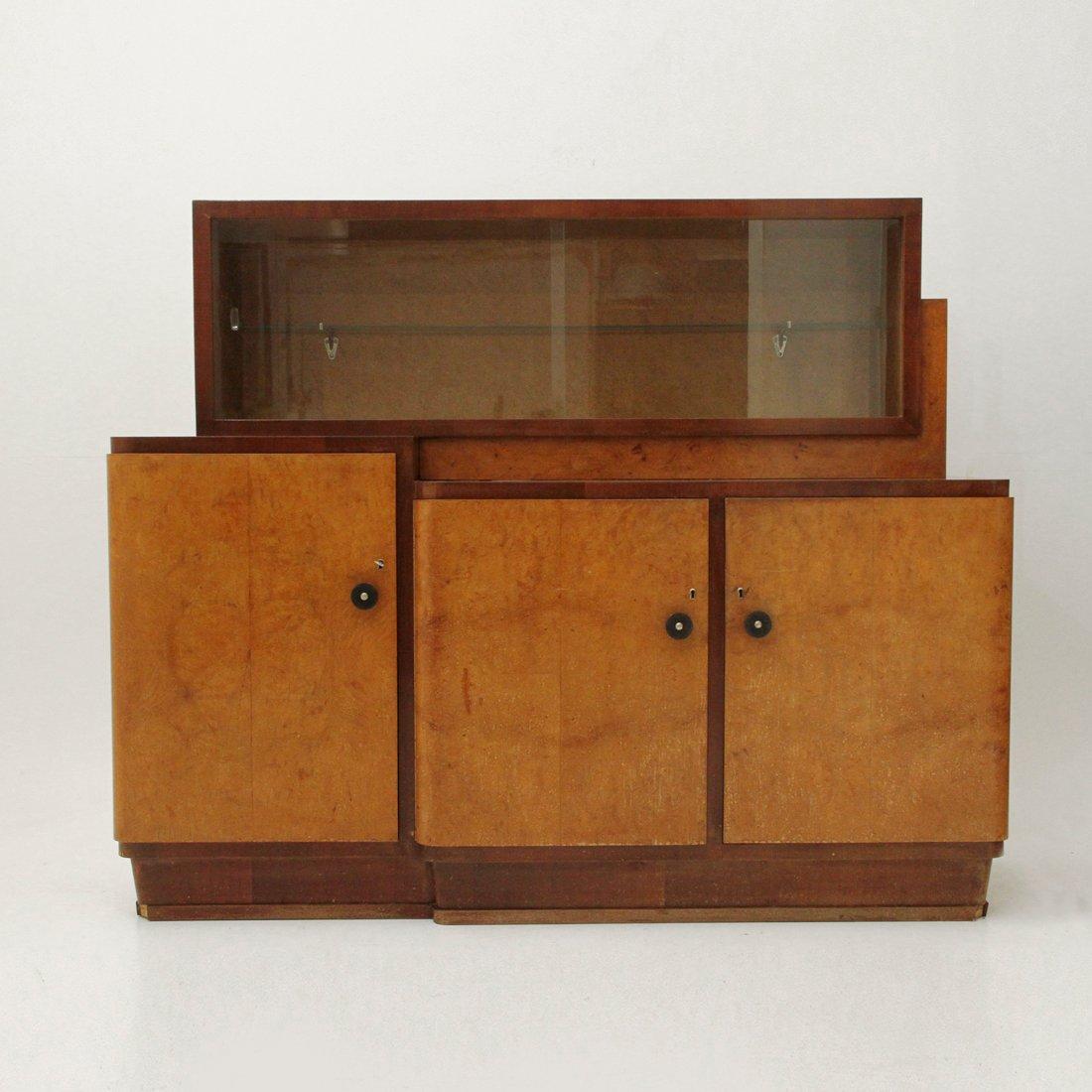 Credenza con vetrina italia anni 39 30 in vendita su pamono - Mobili danimarca ...