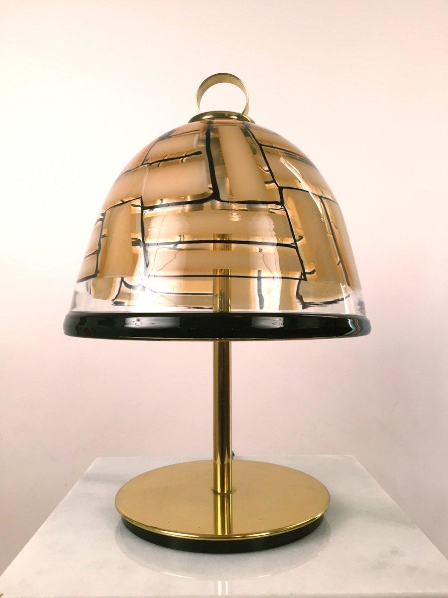 Mid-Century Tischlampe von Ercole Barovier für Barovier & Toso, 1959