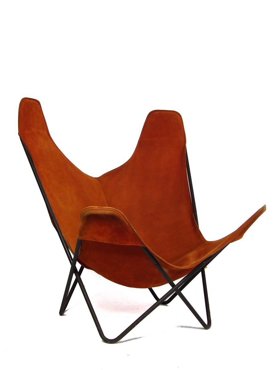 Vintage Hardoy Chair Or Butterfly Chair By Jorge Hardoy Ferrari