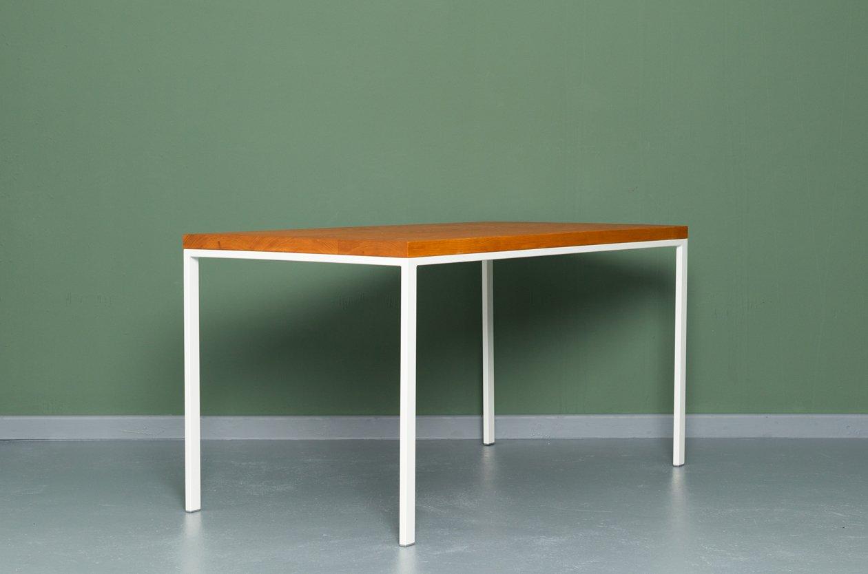 Tavolo da cucina simpleveld in legno riciclato ed acciaio for Tavolo legno acciaio