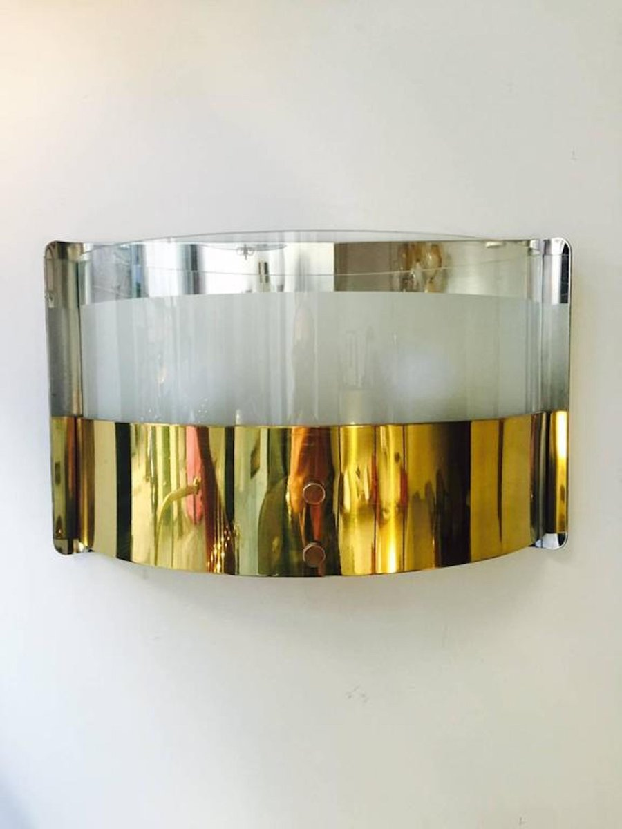 Vintage Wandlampen von Luigi Caccia Dominioni für Azucena, 2er Set