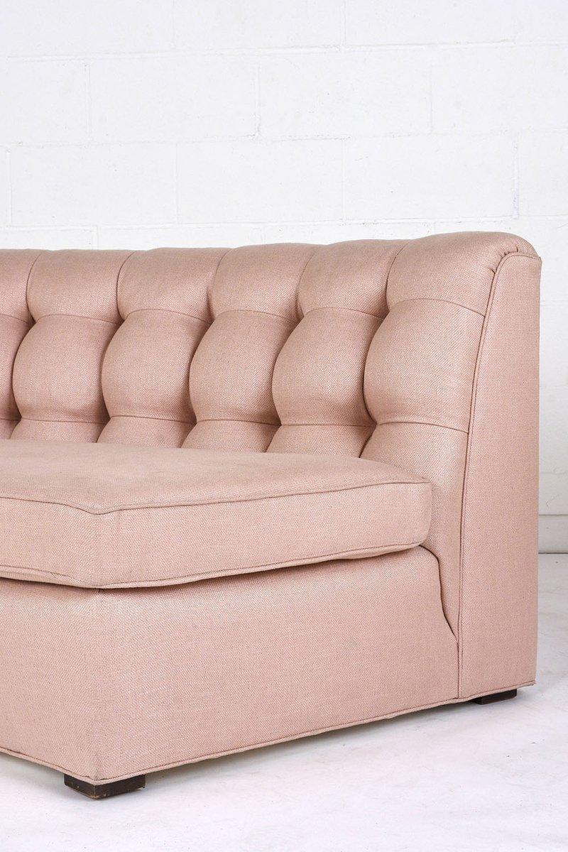 canap modulaire arrondi 1980s en vente sur pamono. Black Bedroom Furniture Sets. Home Design Ideas