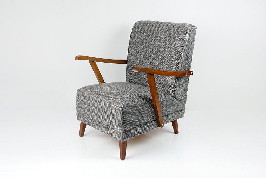Genial Vintage Art Deco Armchair, 1950s