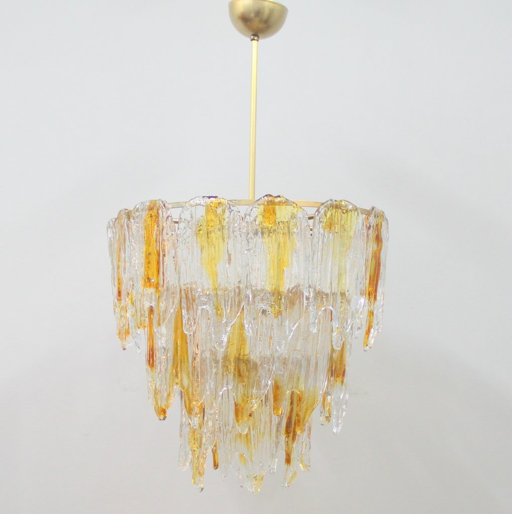 Vintage Murano Glass Chandelier - Vintage Murano Glass Chandelier For Sale At Pamono