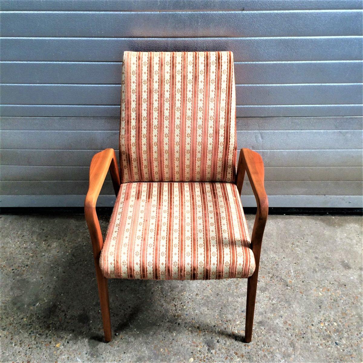 fauteuil scandinave vintage 1960s - Fauteuil Scandinave Vintage