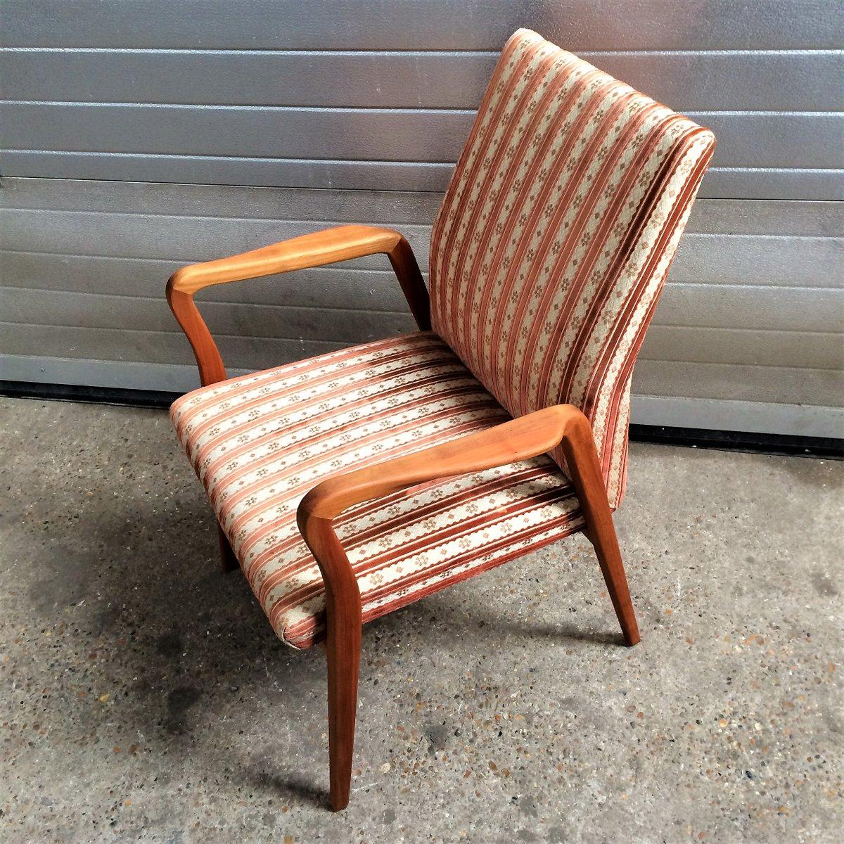 fauteuil scandinave vintage 1960s en vente sur pamono. Black Bedroom Furniture Sets. Home Design Ideas