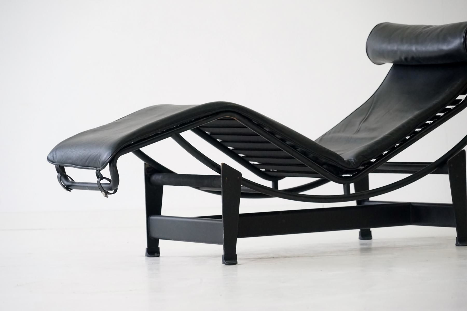 Vintage LC4 Chaise Longue By Le Corbusier For Cassina