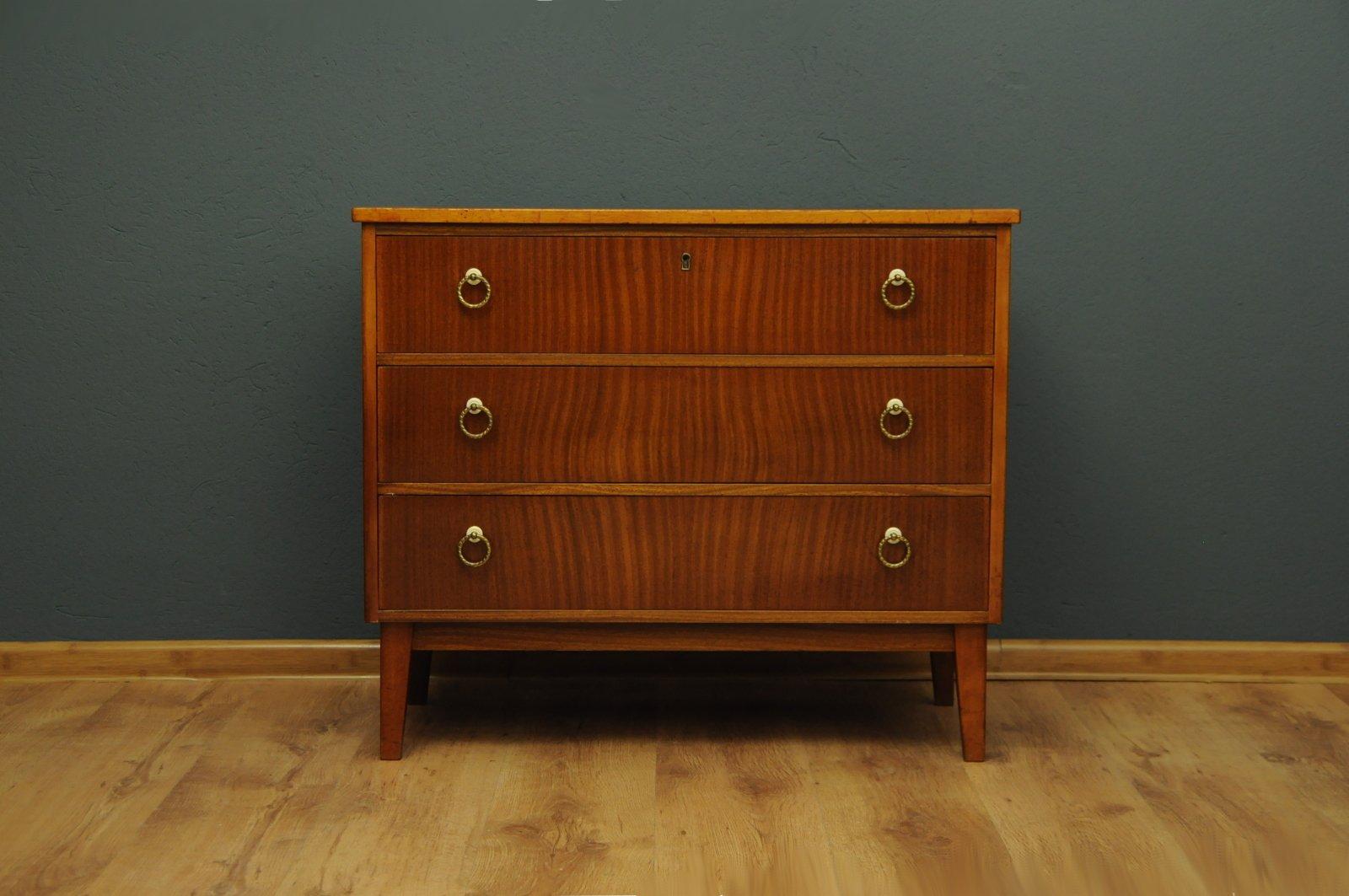 d nische mid century kommode 1960er bei pamono kaufen. Black Bedroom Furniture Sets. Home Design Ideas