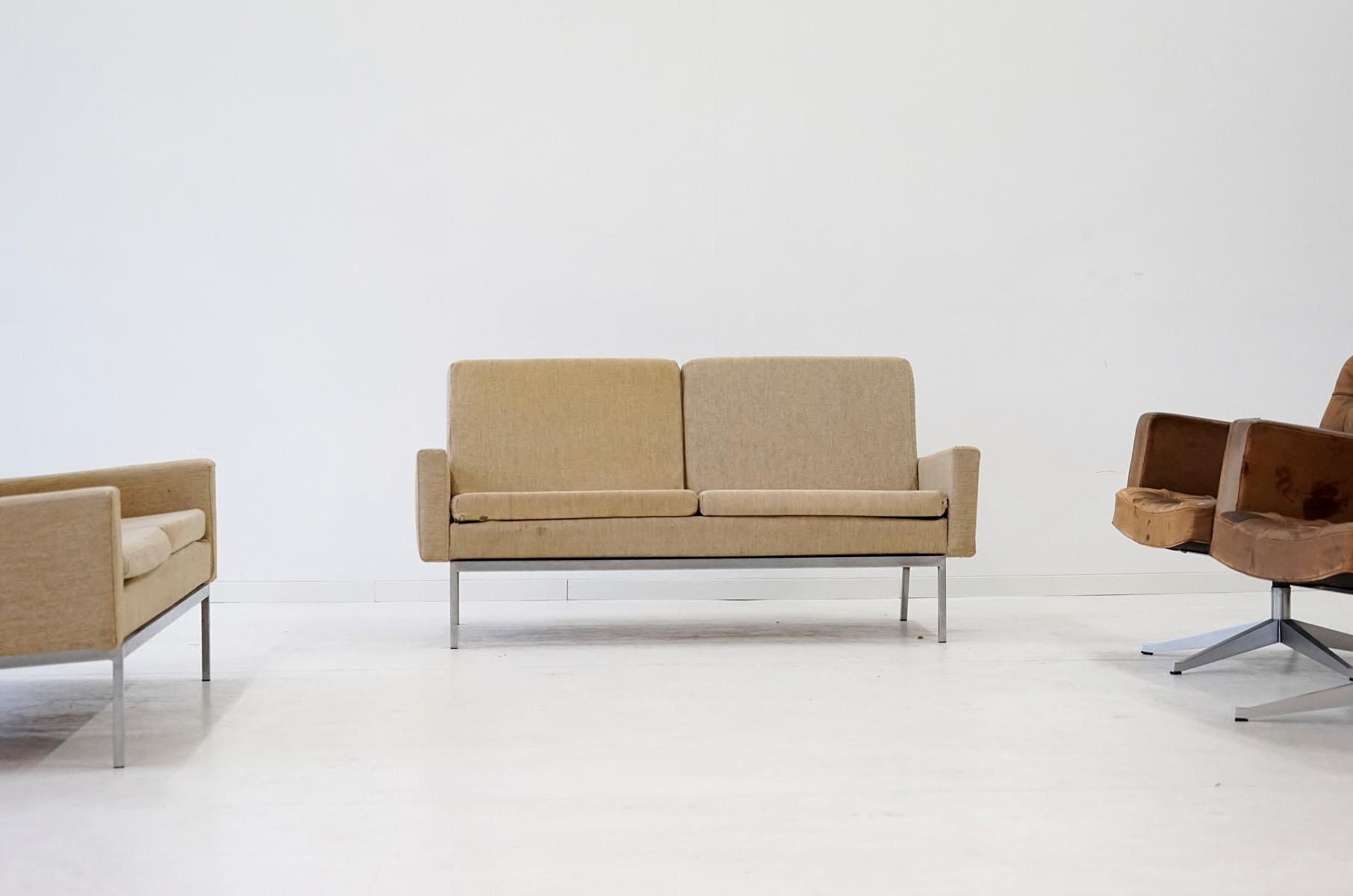 Mid-Century Modell 27 BC 2-Sitzer Sofas von Florence Knoll Bassett für...