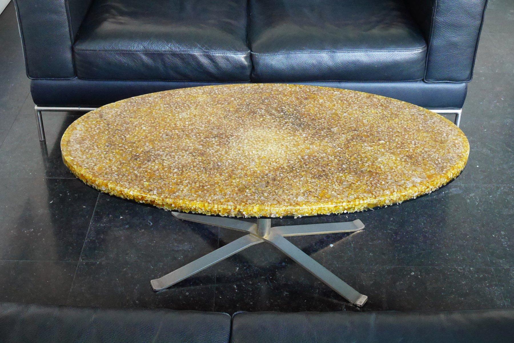 Ovaler Tisch von Pierre Giraudon, 1970er