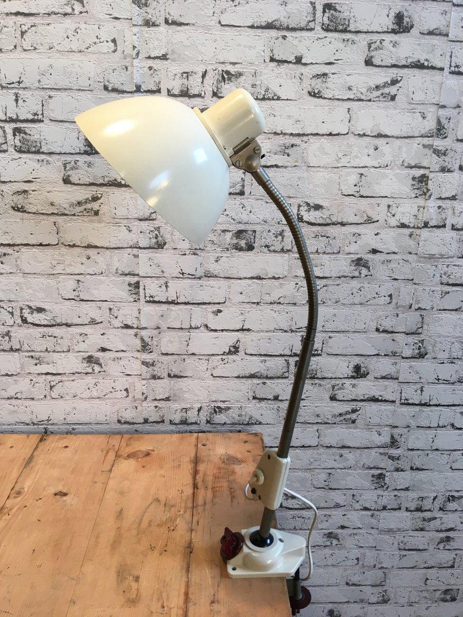 Deutsche Werkstatt Tischlampe von Reif, 1950er