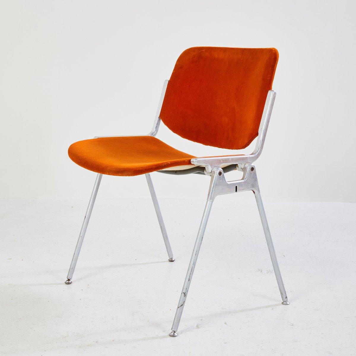chaise d 39 appoint dsc 106 par giancarlo piretti pour castelli 1955 en vente sur pamono. Black Bedroom Furniture Sets. Home Design Ideas