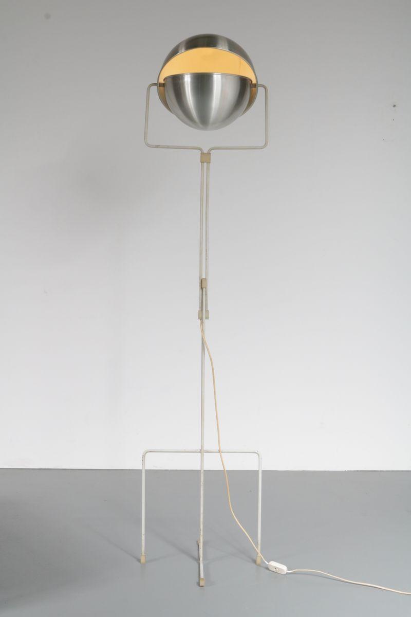 Eclipse Stehlampe von E. J. Jelles für Raak, 1950er