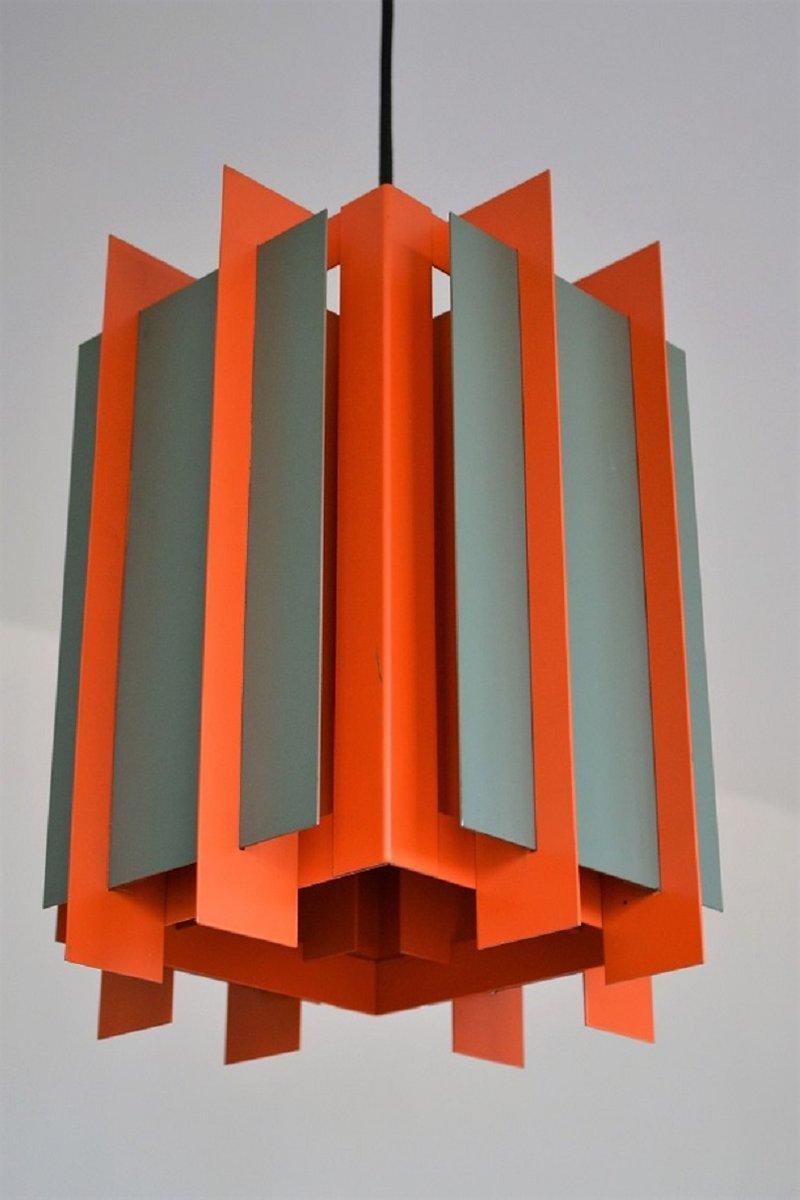 Dänisch Octagon Deckenlampe von Bent Karlby für Lyfa, 1968