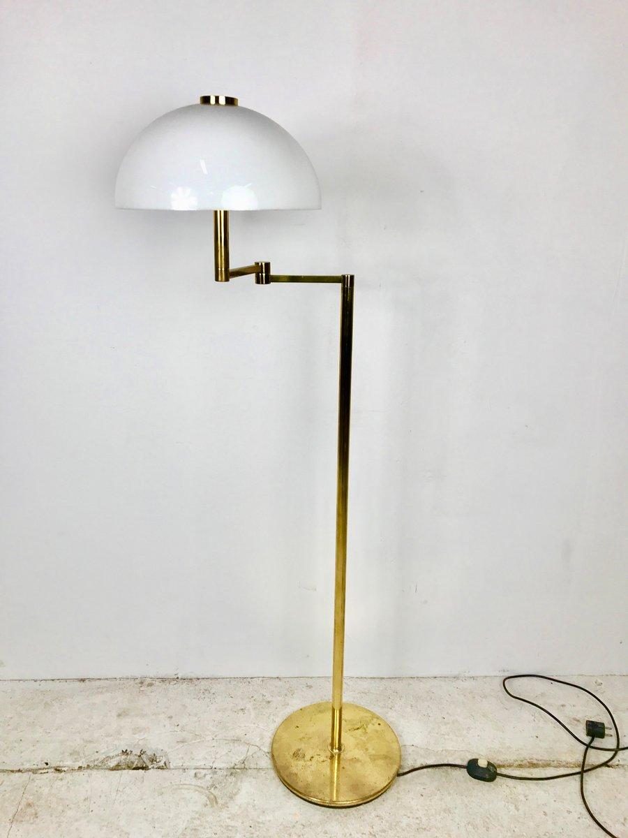 Spanische Stehlampe von George W. Hansen für Metalarte, 1960er