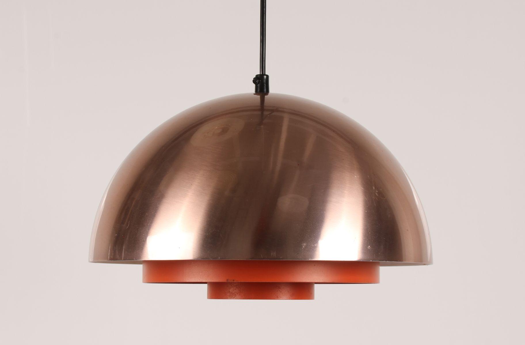 Dänische Milieu Lampee aus Kupfer von Jo Hammerborg für Fog & Mørup, 1...