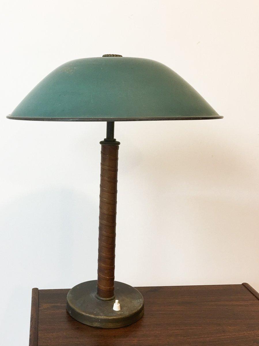 Schwedische Art Déco Tischlampe von Nordiska Kompaniet, 1950er