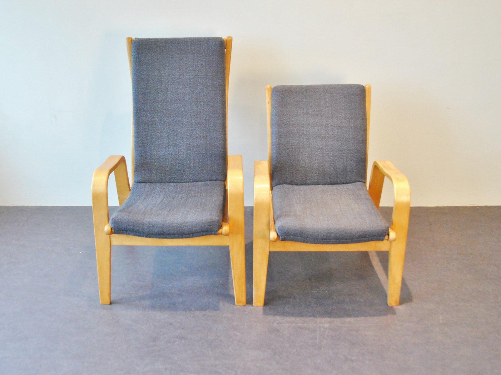 Sessel von Cees Braakman für Pastoe, 1950er, 2er Set