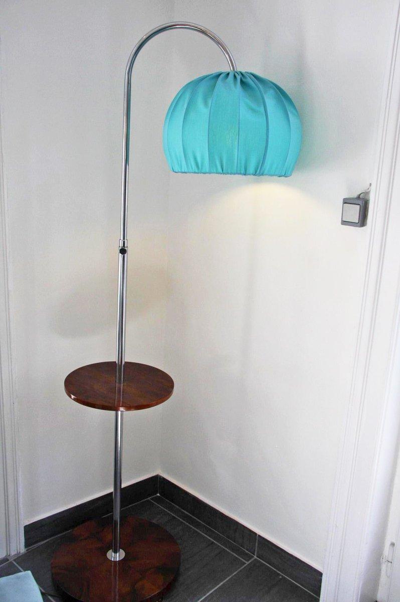 Bauhaus Stehlampe mit Regal
